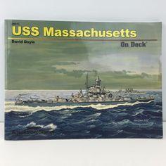 Squadron Book USS Massachusetts On Deck Color & BW Photos…