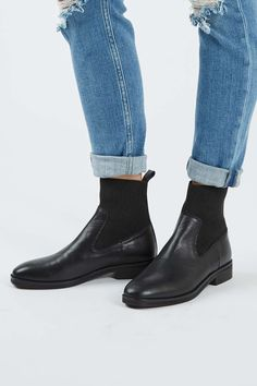 ANA Elastic Ankle Boots