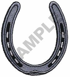 HORSESHOE embroidery design from embroiderydesigns.com