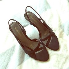 """NWT! Slingback Heels NWT!! Worn ONE time inside. Size 7.5 black strappy Slingback heels. Heel size is approx 3"""". Brand is Neutralizer bought from Dillard's. See something else you like? Bundle and save! Fast shipping! Neutralizer Shoes Heels"""