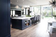 Luxury Kitchen Stunning luxury home kitchen - Ailesbury Road - Kitchen Inspirations, Interior Design Kitchen, Luxury Kitchens, Grand Kitchen, Home Kitchens, Open Plan Kitchen Living Room, Modern Kitchen, Kitchen Remodel, Best Kitchen Designs