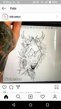 Tattoo Ideen Ink Tattoos - Tattoos of Hannah Time Tattoos, Body Art Tattoos, Tatoos, Marvel Tattoos, Unique Tattoos, Beautiful Tattoos, Tattoo Avant Bras, Natur Tattoo Arm, Dotwork Tattoo Mandala