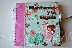 Diario de embarazo y álbum de bebé para Mª Ángeles