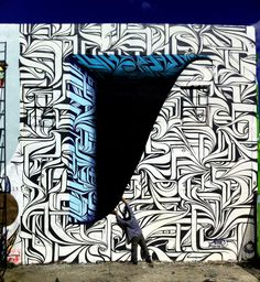 On vous emmène à la découverte d'un street artist de renommée internationale : Astro. Il nous illumine avec ses fresques tout en perspective !