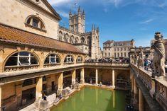 Roman Baths, Bath, England Fantasy Series, Illustrator Tutorials, Dark Fantasy, Public Bathing, New Pictures, Royalty Free Photos, Baths, Roman, Photo Editing