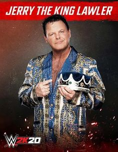 Jerry The King Lawler, Wwe 2k, Baseball Cards, Movie Posters, Movies, Man Cave, Legends, Films, Film Poster