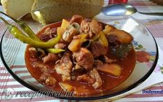 Pork, Beef, Cooking, Ethnic Recipes, Red Peppers, Kale Stir Fry, Meat, Kitchen, Pork Chops