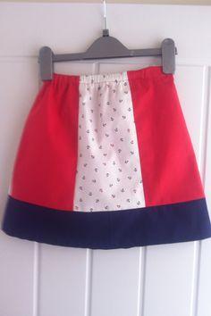 Skirt for Freya - Seven Berry Anchor