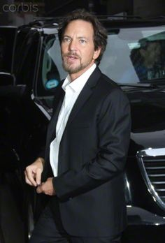 Eddie Vedder at Late Show with David Letterman