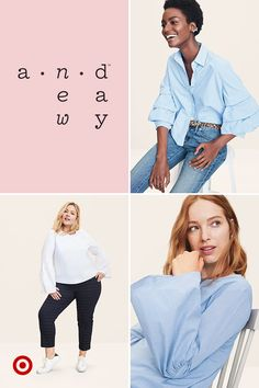 Bell sleeves give classic button-downs and plain white shirts a high-fashion spin. The flowy detail adds chic volume—an easy way to take any look to the next level. Even out the proportions with slim-fitting jeans or black pants.