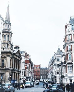 The streets of Marylebone, London #travel #london
