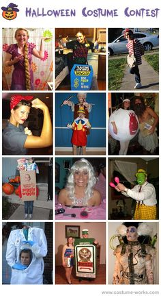 DIY Halloween Costumes - thousands of costume ideas! #halloween #costume #contest