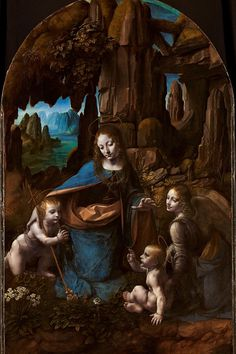 Da Vinci, al detalle Rene Magritte, Camille Pissarro, Claude Monet, Madona, Disney Stained Glass, Renaissance Time, National Gallery, Modern Cross Stitch Patterns, Italian Painters