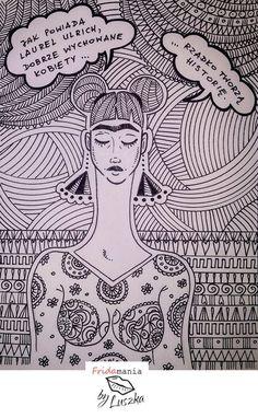 #fridakahlo #fridakahloinspireme #fridamania #womaninart #doodleart