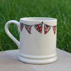 Union Jack Bunting Mug