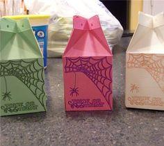 Project Center - Halloween Milk Cartons #cricut