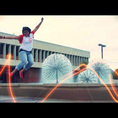 Ayu ( Star Ambassador ) gets a jump start at EF Long Beach! CA