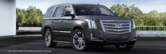 INTRODUCING THE 2017 CADILLAC ESCALADE RADIANT PACKAGE Your arrival becomes an event with the Radiant Package for Escalade. Featuring a stylish grille in Galvano and Silver mesh, a highly-polished exhaust tip, and 22-inch, 7-split-spoke chrome wheels, it makes a strong statement.