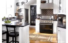 They say that the kitchen is the heart of the home, so why not make yours extra warm and inviting? The task is easy with this selection of hardwood islands, bronzed baker's racks, and stainless steel appliances. Wrap it up with shiny pendant lights and stylish canister sets.http://www.wayfair.com/daily-sales/Create-Your-Dream-Kitchen~E13317.html?refid=SBP.rBAZKFPqKYozk2EbCQQmAt1HHuO4zkXUu9k1MfXGkM8