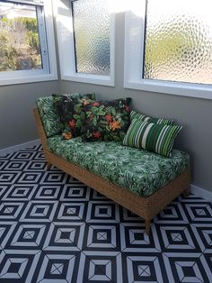 Made in Water Hyacinth col Natural with a choice of fabrics, water hyacinth colours, New Zealand Water Hyacinth, Daybed, Seat Cushions, Settees, Couch, Colours, Sofas, Fabrics, Furniture