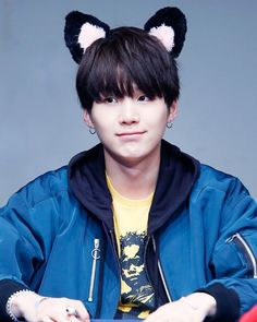 my little cat -------------------------- { #suga #btsmemories2015 #bts #jin #jimin #jungkook #jhope #rapmonster #v #btsislife #asianboy #asianboys #fashion #koreanrapper }