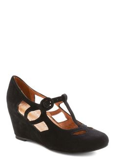 Jeffrey Campbell Pane and Simple Wedge | Mod Retro Vintage Wedges | ModCloth.com