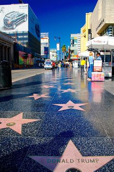 Hollywood Blvd walk of fame. Get all the best travel & ticket deals guaranteed @ http://losangeles.buzz