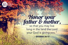 As a Christian, you are to honor your parents, and you are to show this same respect to your in-laws. You reveal the level of your spiritual maturity in these important relationships. And don't forget you are modeling to your children how they should treat you and their future relatives.