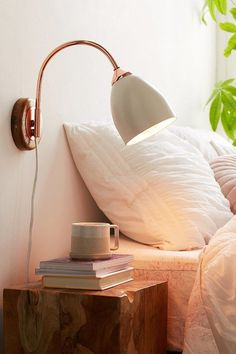 Wall lighting. Urban Outfitters. Copper Light