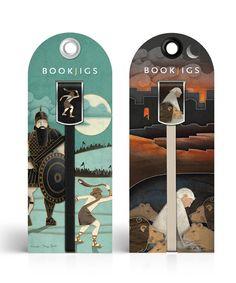 BookJigs New Product Line by modern8, via Behance