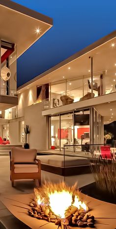 Stunning beautiful modern house wich is ideal for parties, relaxing and anything. Stunning beautiful modern house wich is ideal for parties, relaxin. Dream Home Design, Modern House Design, Home Interior Design, Exterior Design, Luxury Homes Dream Houses, House Goals, Architecture Design, House Ideas, Mansions