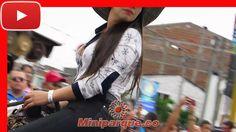 Las mas bellas chicas en caballo en la cabalgata feria de tulua # 61 horse colombia 2016 video HD 97