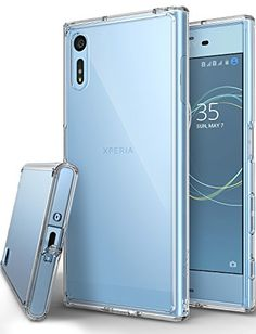 3f849e7856b Xperia XZ / XZs Case, Ringke [FUSION] Streamlined Fit [Rose Gold  Crystal][Attached Dust Cap] Durable PC Back Flexible TPU Bumper Cover  [Impact ...