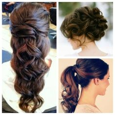 hair styles Bespoke Brides Top 20 Unique Wedding Hair Styles to Inspire You! Love Hair, Great Hair, Gorgeous Hair, Formal Hairstyles, Pretty Hairstyles, Wedding Hairstyles, Redken Hair Products, My Hairstyle, Bridesmaid Hair