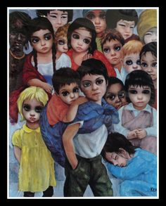 """Our Children"" ~ Margaret Keane"