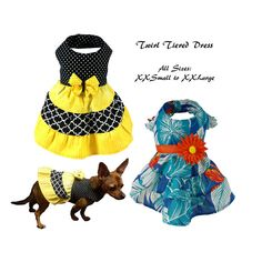 Dog Dress Pattern, Dog Clothes Sewing Pattern pdf Tutorial -Pillowcase Dress- All Sizes XXS to XLarge