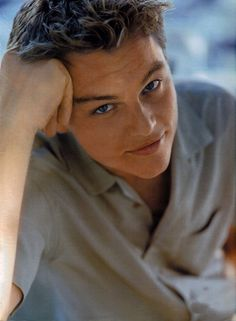 Leonardo DiCaprio...he can be so cute...and sometimes sexy, but mostly I really enjoy his acting ability!!