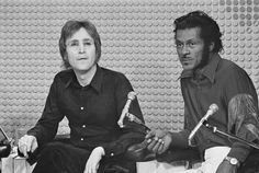 John Lennon & Yoko Ono's final Mike Douglas Show appearances were taped January 27th and 28th, 1972. The first of these shows included the most interesting performances of the whole week, when rock and roll icon Chuck Berry joined the panel. John's schoolboy excitement at sharing the stage with one of his musical heroes was obvious during their two-song set and conversation. Chuck liked the backing band, Elephant's Memory, enough to use them on his next album, Bio (1973).