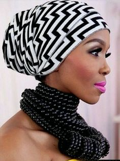 A head wrap is such a fascinating accessory for self expression and style. You can tie a scarf with just about any outfit from contemporary to ethnic. Head wraps, scarves and bandannas come in vari… Turbans, Headscarves, Turban Headbands, Modele Hijab, African Head Wraps, Head Wrap Scarf, Turban Style, Africa Fashion, Scarf Hairstyles