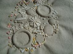 Stitching Always: Tutorial. Encrusting with French Knots