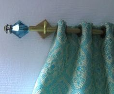 Tutorial Curtain Rods With Interchangeable Finials Cortinas