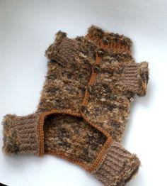 Dog clothes dog sweater pet clothesHand Knit от LyudmilaHandmade