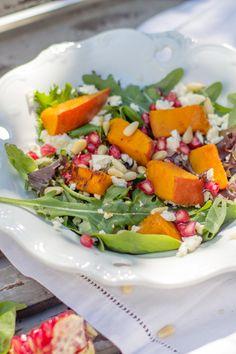 Kürbis Salat