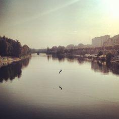 17) Sul fiume. Torino sorprende. - @annalisagennaro- #webstagram
