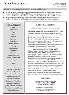 Surgical Technologist Student Resumes Jpg 273 215 353 Pixels