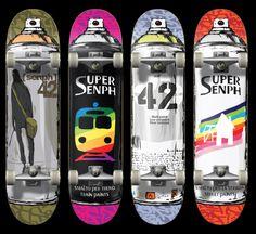 Skateboard #board #skateart   Discover Board Artist interviews on www.thedailyboard.co