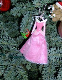 Disney Princess Dresses Christmas Ornaments | When I was a WDW ...