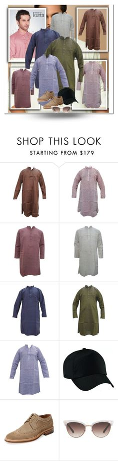 """""""ETHNIC FASHION MEN'S WEAR KURTAS"""" by globaltrendzs-flipkart ❤ liked on Polyvore featuring Modern Fiction, Gucci, men's fashion and menswear"""