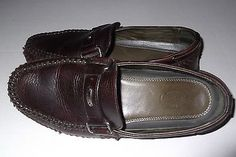 HS TRASK Cobbler Moccasin Driving Shoes in Size 10M
