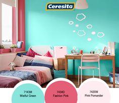 #CeresitaCL #PinturasCeresita #Color #Niños #Niño #Habitación #Infantil #Juegos #Pintura #Decoración #Hogar #Home #Deco #Tendencia #Estilo *Códigos de color sólo para uso referencial. Los colores podrían lucir diferentes, según calibrado de su monitor.